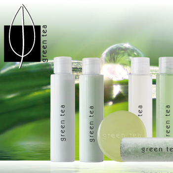 green tea cosmetic collection