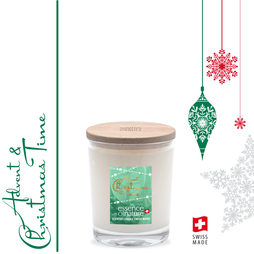 Essence of Nature Scented Candle 180g Advent & Christmas Time