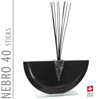 Bettina Eberle Nebro 40 Sticks Black
