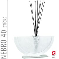 Bettina Eberle Nebro 40 Sticks White