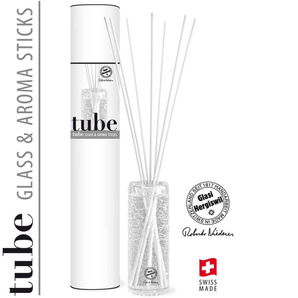 Duftskulptur Glasi Hergiswil Tube 250ml Sticks