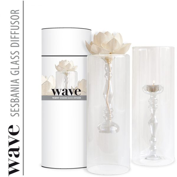 Duftskulptur SeraxDesign Wave 70 ml