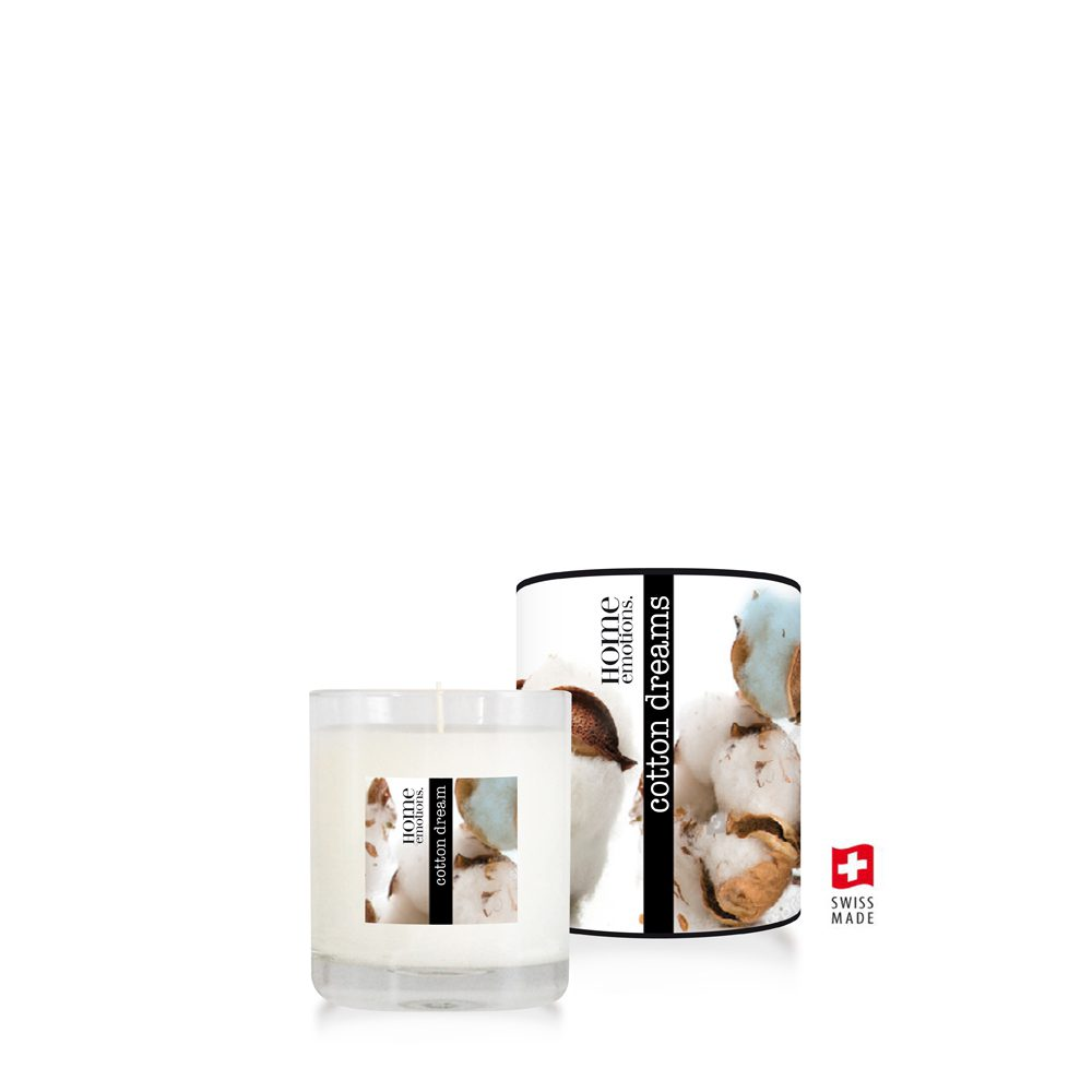 Home Emotions Scented Candle 190g Cotton Dream