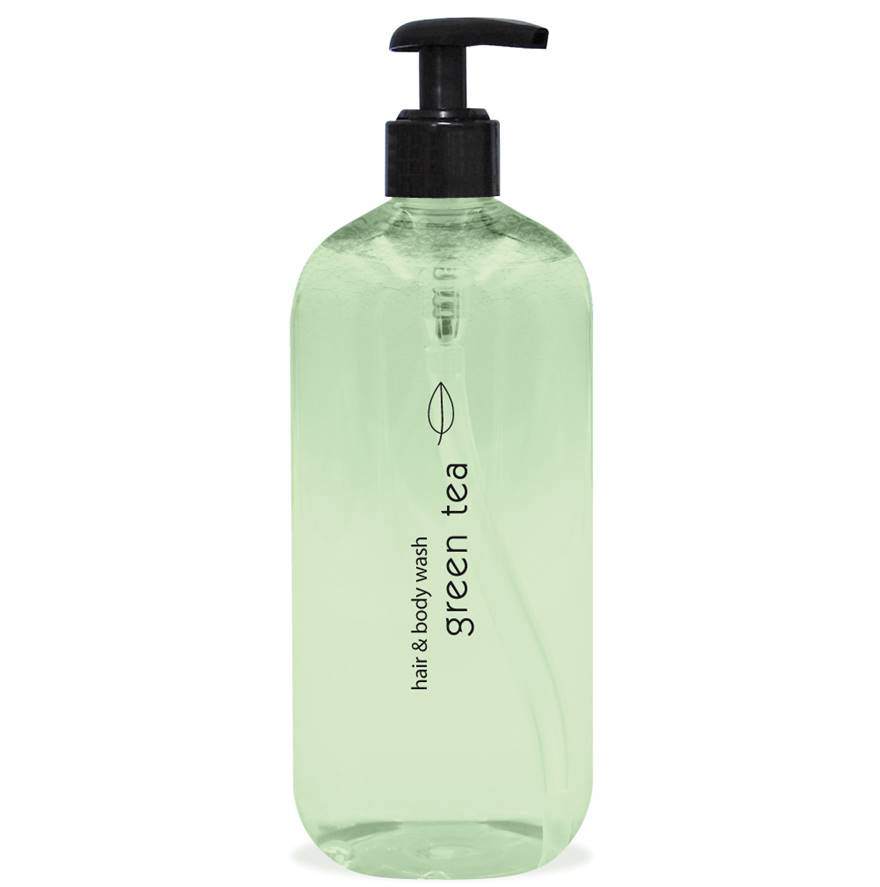 Green Tea Hair & Body 500ml Pumpspender