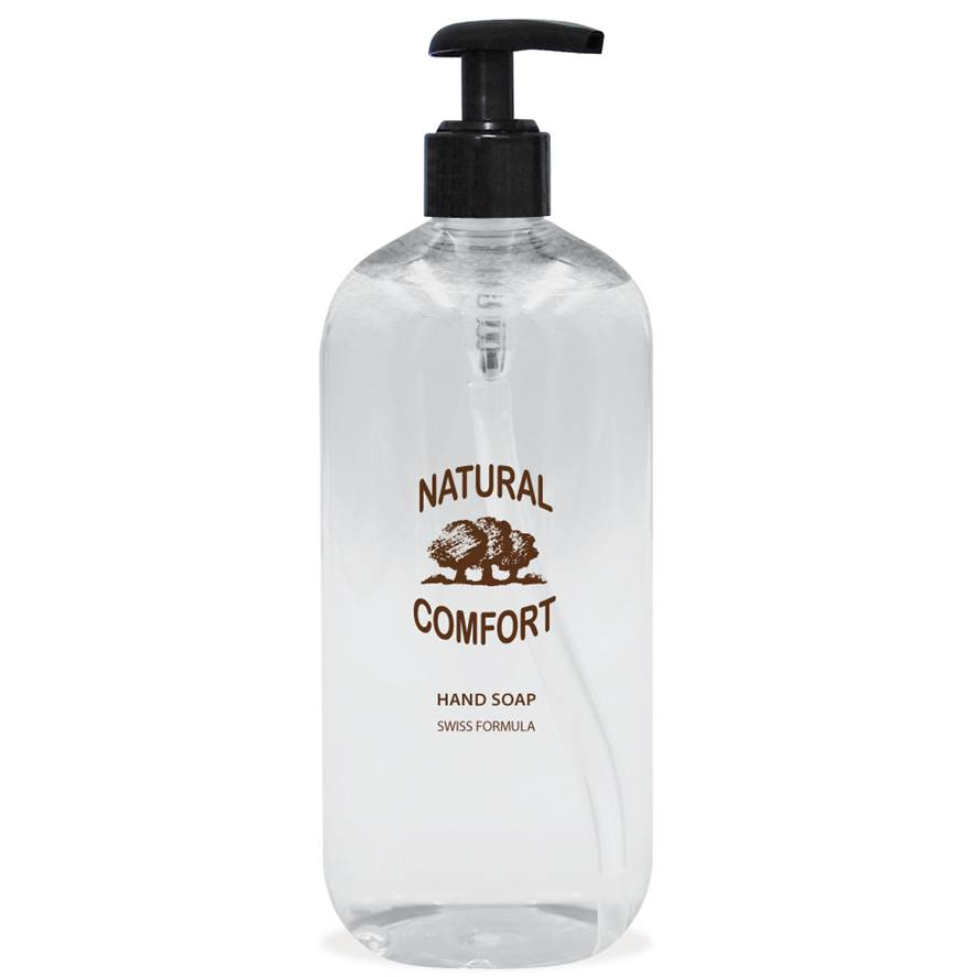 Natural Comfort Hand Soap 500ml Dispenser
