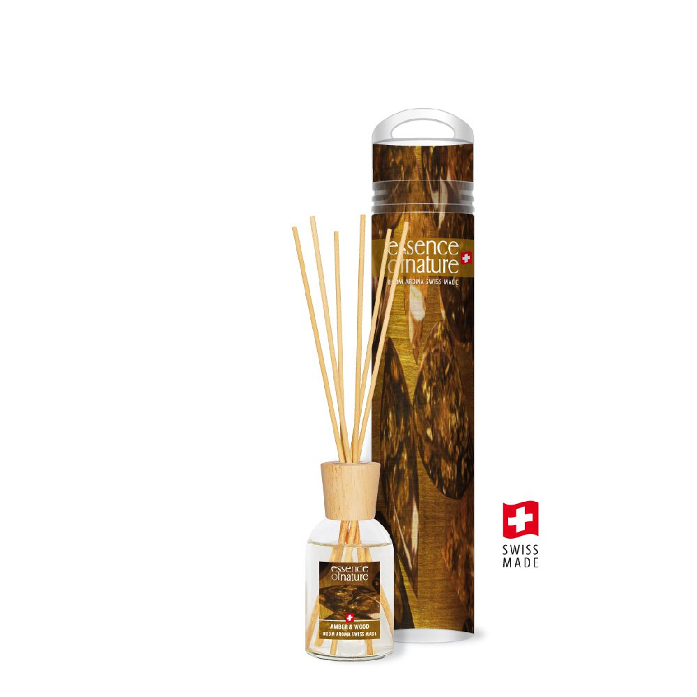 100ml Aroma Sticks Amber & Wood
