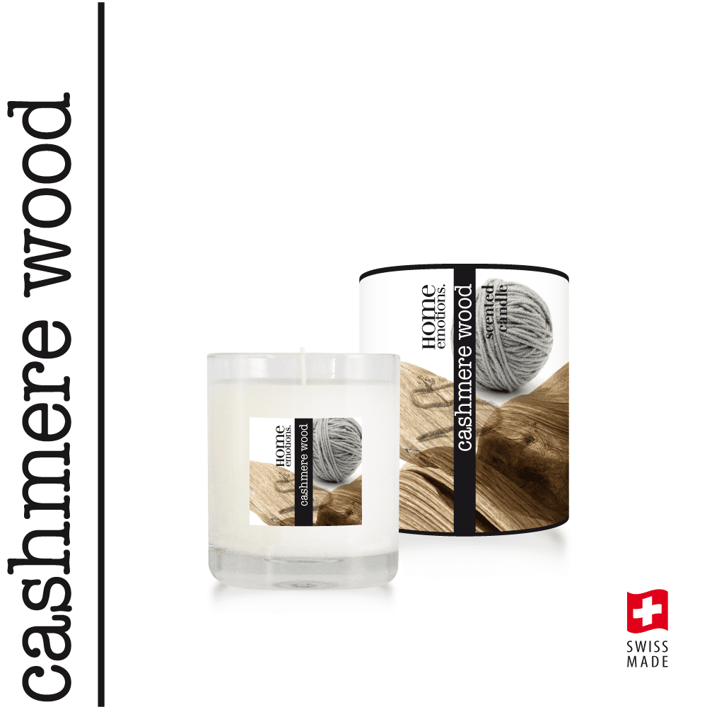 Home Emotions Scented Candle 190g Cashmere Wood