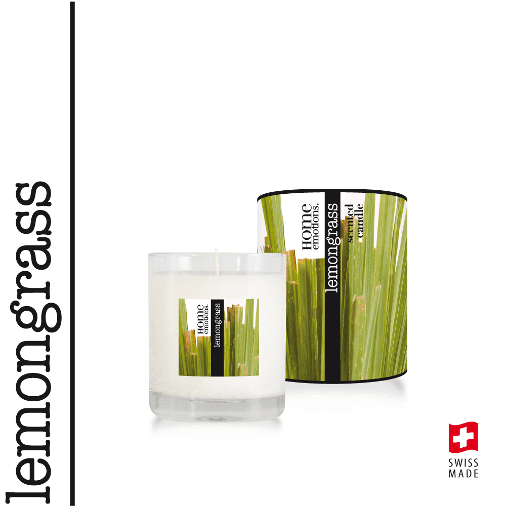 Home Emotions Scented Candle 190g Lemongrass