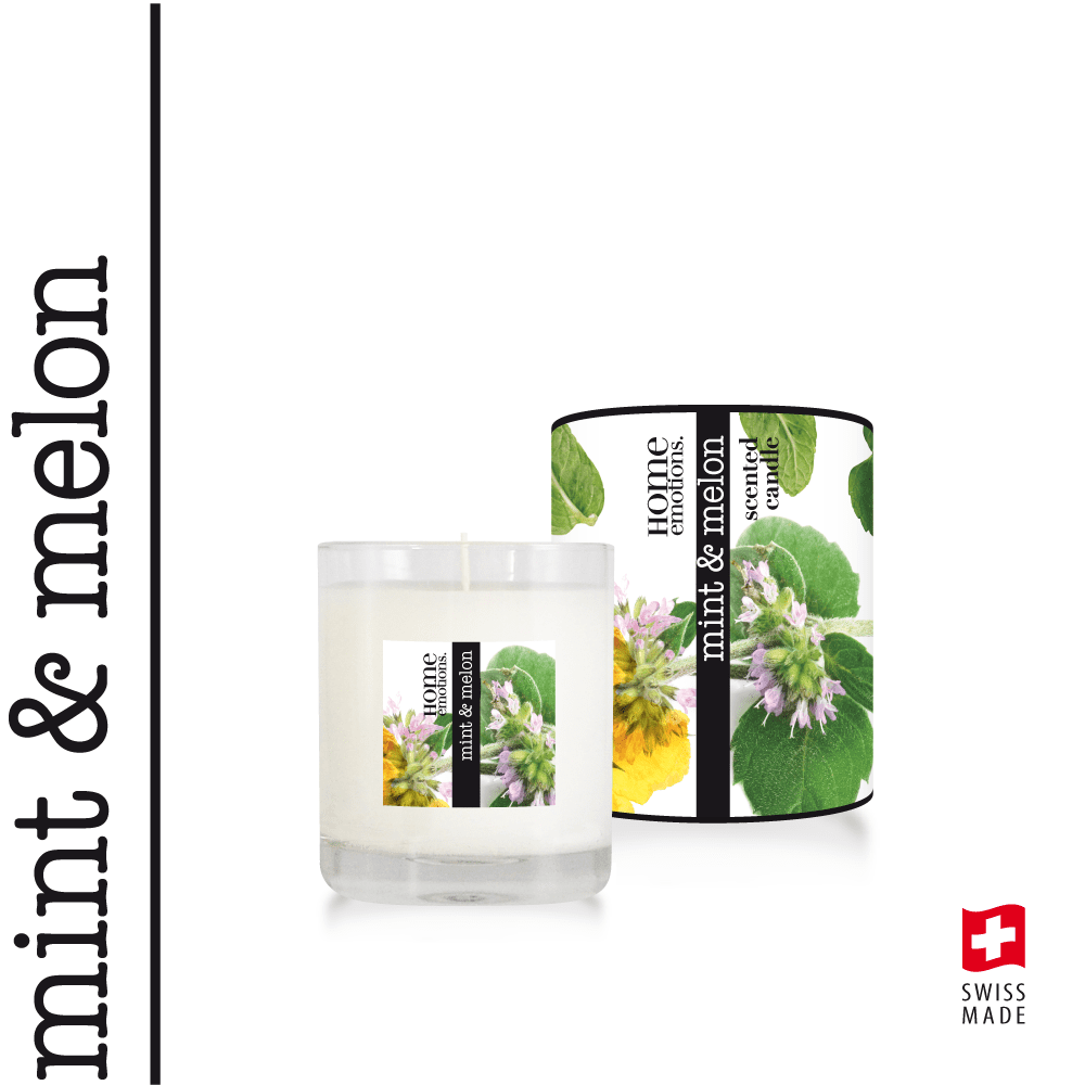 Home Emotions Scented Candle 190g Mint & Melon
