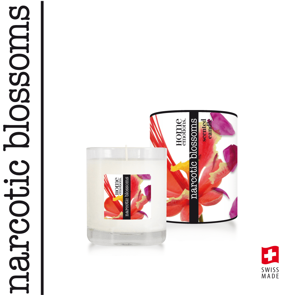Home Emotions Scented Candle 190g Narcotic Blossoms
