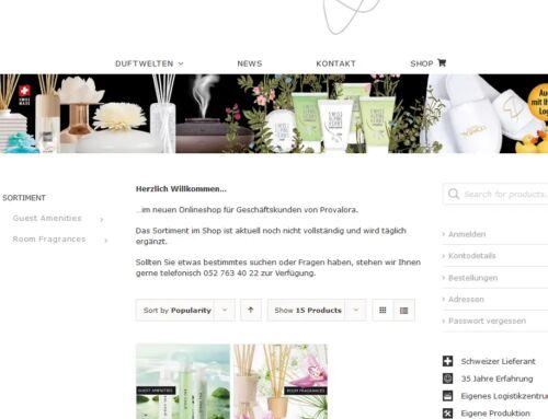 Der Onlineshop für Geschäftskunden ist da!