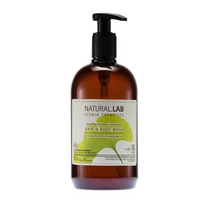Natural Lab Hair & Body Wash 500ml