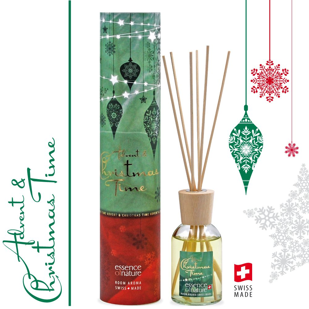 Essence of Nature Room Aroma Sticks 100ml Advent + Christmas Time