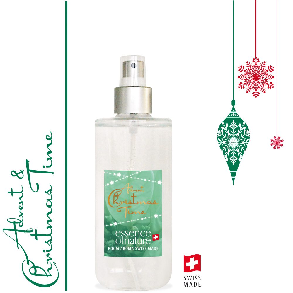 Essence of Nature Room Aroma Spray 120ml Advent + Christmas Time