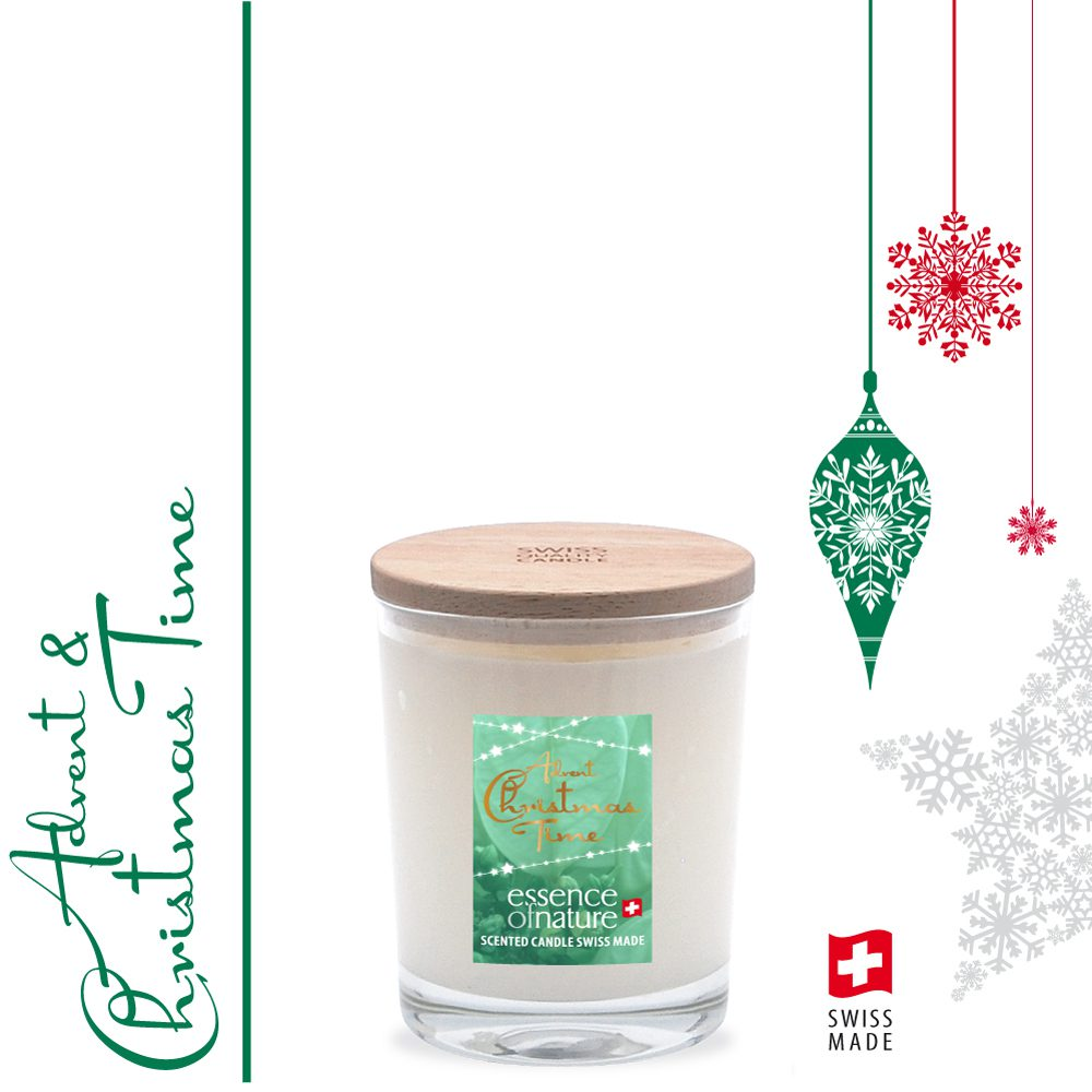 Essence of Nature Scented Candle 180g Advent + Christmas Time