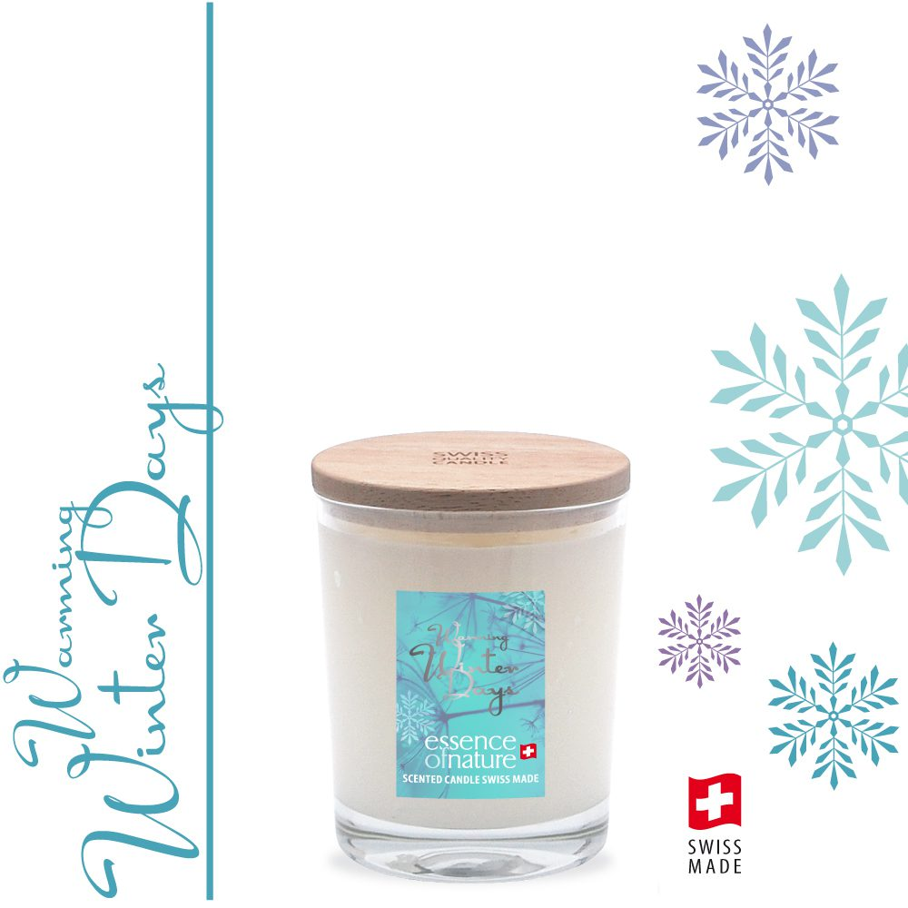Essence of Nature Scented Candle 180g Warming Winter Days